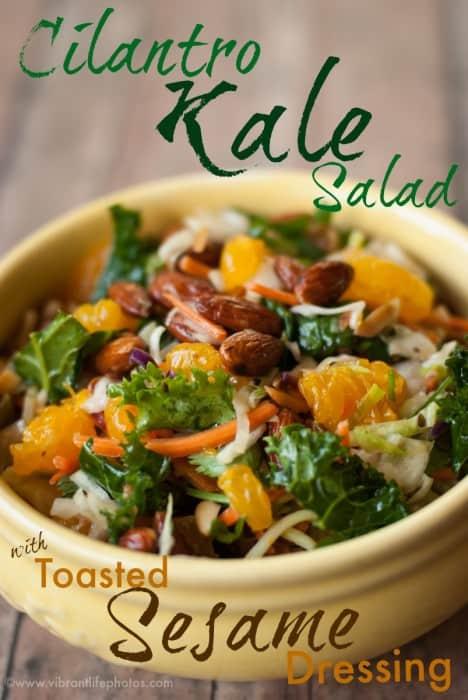 Cilantro Kale Salad