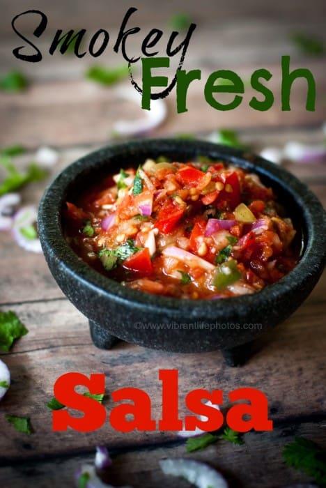 Smokey Fresh Garden Salsa