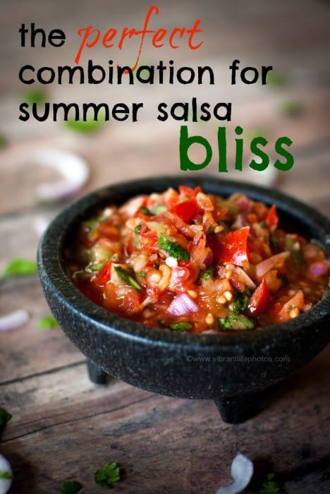 perfect garden salsa recipe