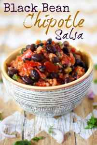Black Bean Chipotle Salsa Recipe