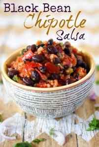 Black Bean Chipotle Salsa Recipe