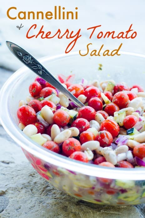 Cannellini & Cherry Tomato Salad