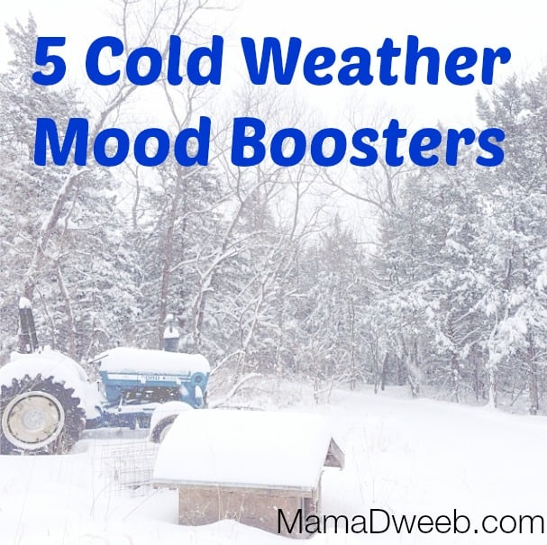 5 tips to beat the cold weather blues