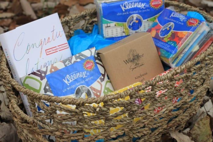 Kleenex gift basket for college student #KleenexCares