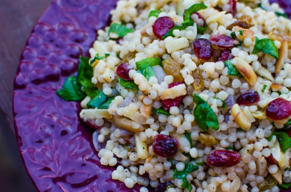 Golden Cranberry Couscous