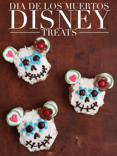 Disney Dia de Los Muertos Treats Recipe