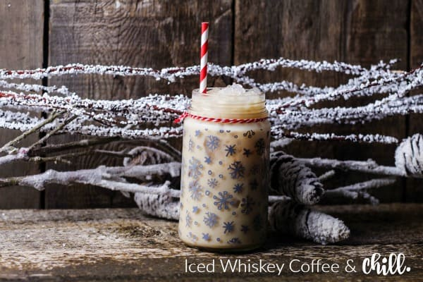 Coffee Whiskey Latte Drink Recipe