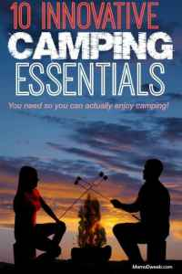 10 Camping Essentials That Help You Not Hate Camping