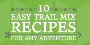 10 Simple & Creative Trail Mix Recipes