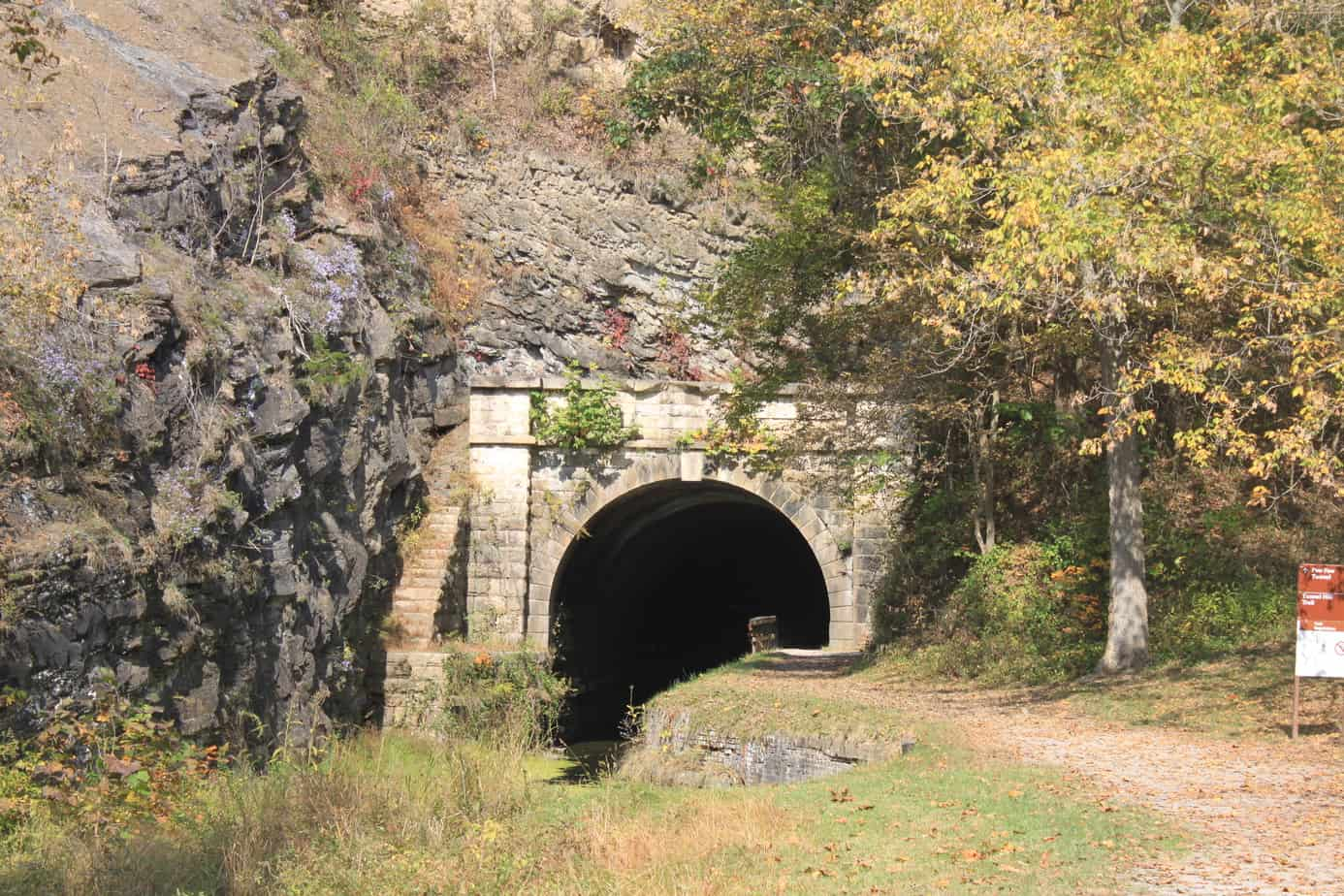 Paw Paw Tunnel in West Virginia