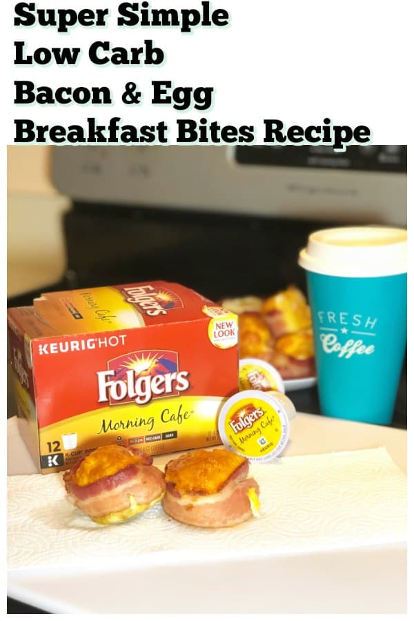 Bacon and Egg Breakfast Bites With Folgers