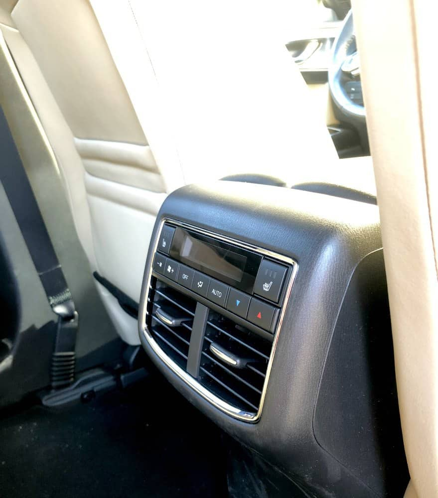 Mazda CX-9 Rear Climate Control and Heated Seats