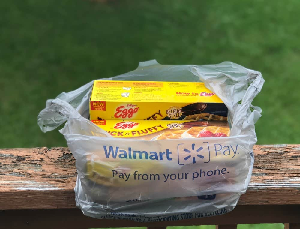 Eggo Waffles from Walmart