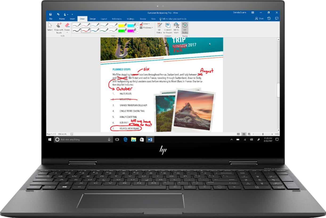 HP Envy 360 Laptop Windows Ink
