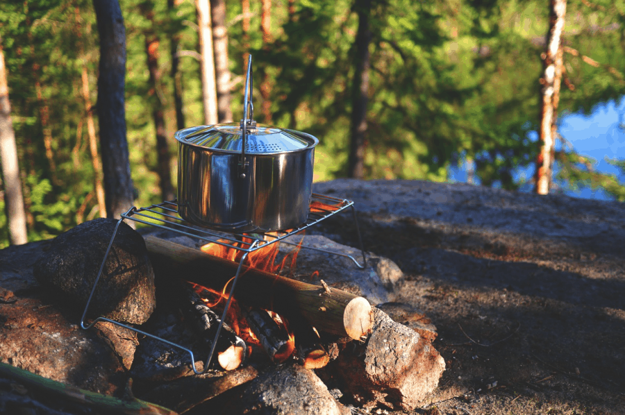 Camping Cooking Meal