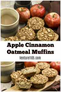 Apple Cinnamon Oatmeal Muffins – Made from Scratch With Maple Syrup