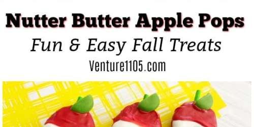 Nutter Butter Apple Pops