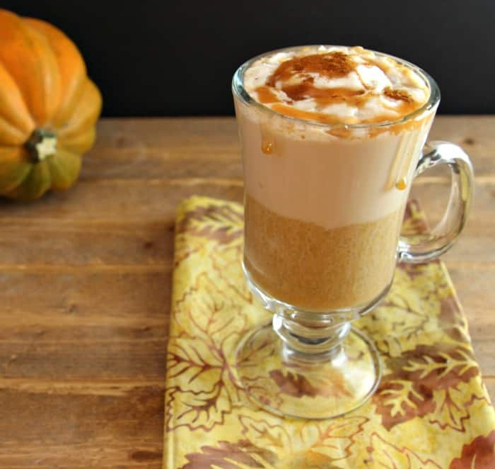 Pumpkin Spice Latte Low Carb