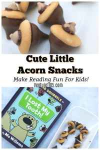 Easy DIY Acorn Snacks Tutorial With Unlimited Squirrels