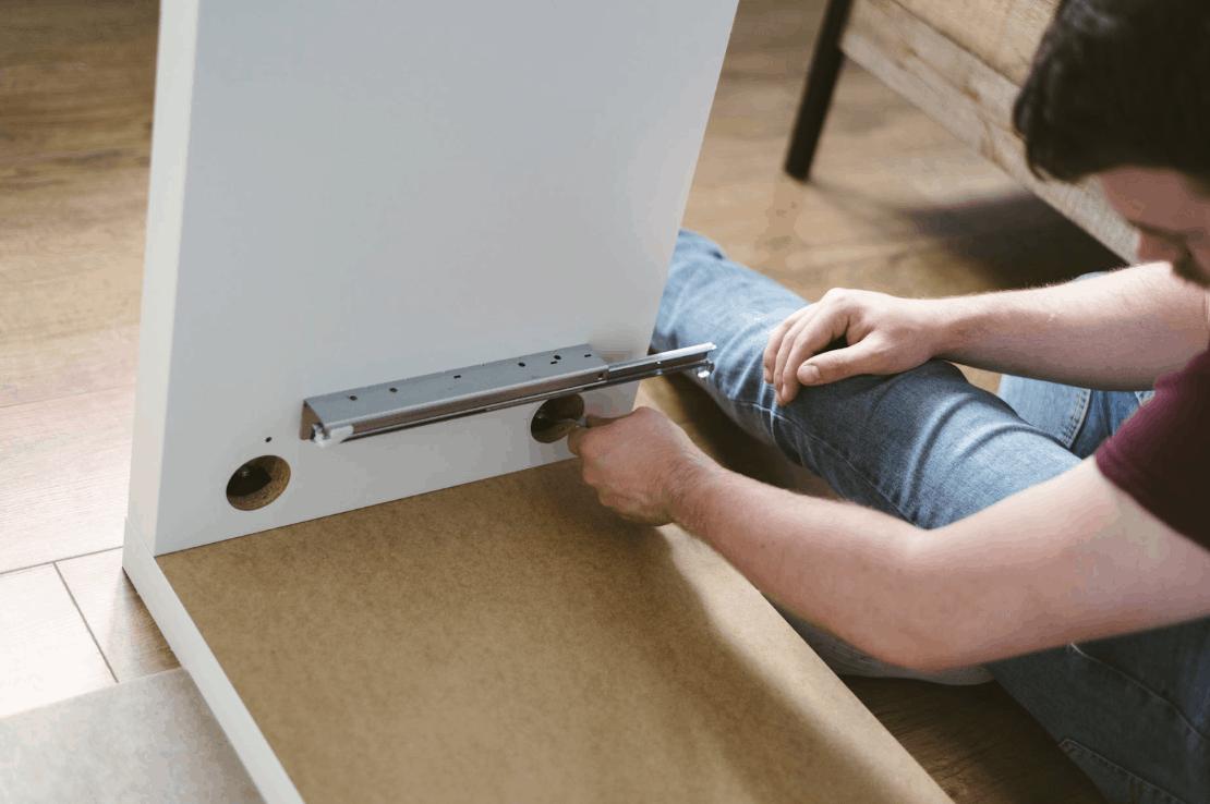 Putting together DIY Furniture