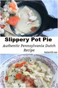 Slippery Pot Pie – Pennsylvania Dutch Chicken Pot Pie Recipe