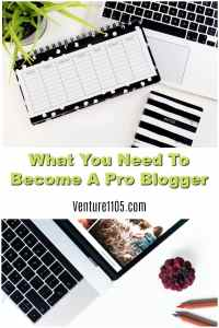 What You Need to Become a Pro Blogger