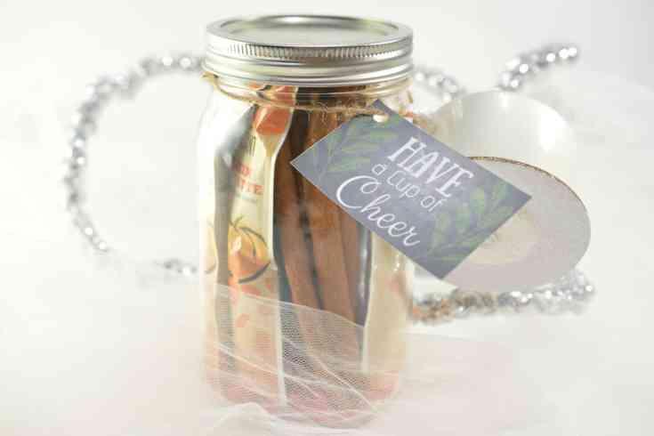 DIY Coffee Gift in a Jar Tutorial