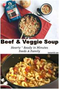 Vegetable Beef Soup – So Easy Kids Can Make It