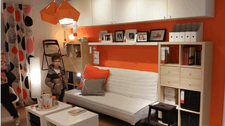 IKEA Furniture in Bedroom