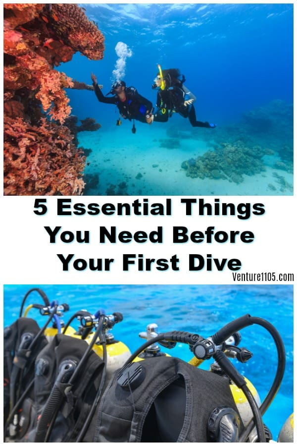 5 Things You Need Before Your First Dive