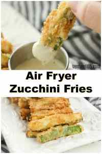 Keto Zucchini Fries – Made in the Air Fryer