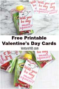 Free Printable Valentine's Day Card for An Allergy-Friendly Classroom Party