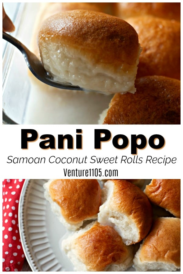 Pani Popo Samoan Coconut Sweet Rolls Recipe