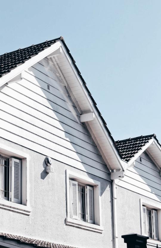 A house exterior