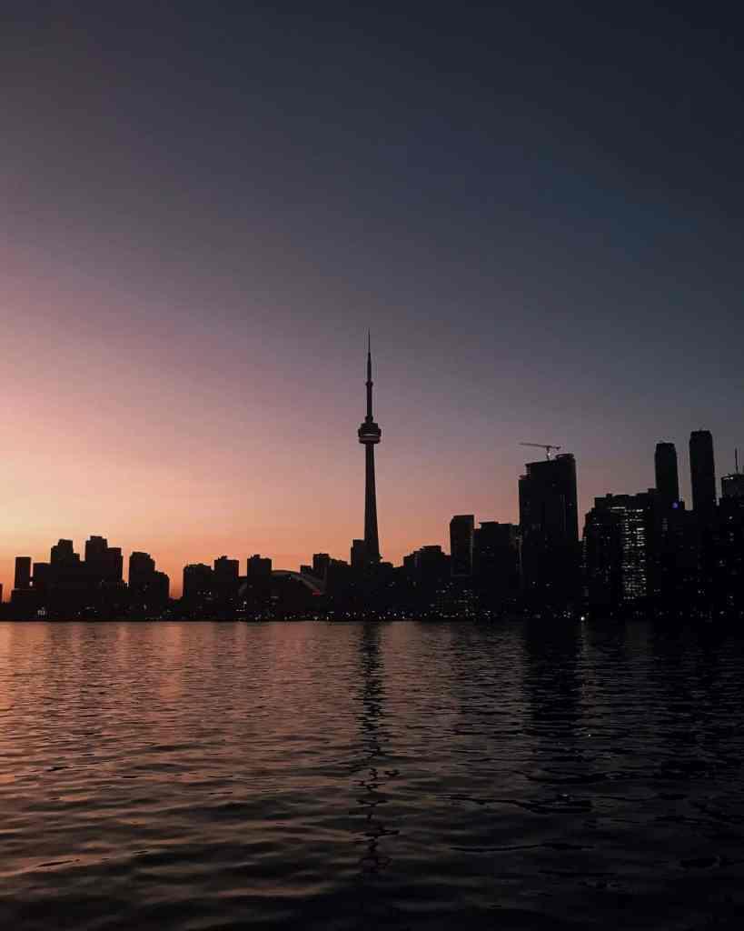 Toronto Canada At Night