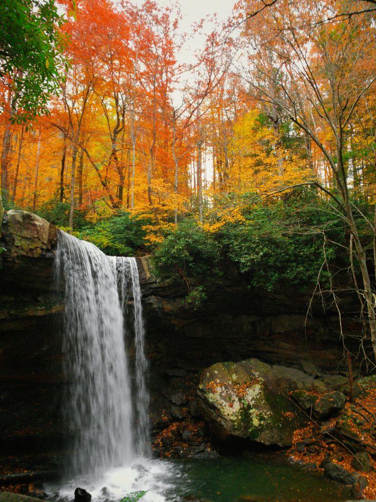 Cucumber Waterfall in PA