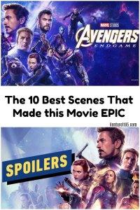 10 Best Scenes in Avengers: Endgame
