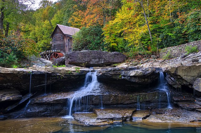 The Grist Mill in West Virginia