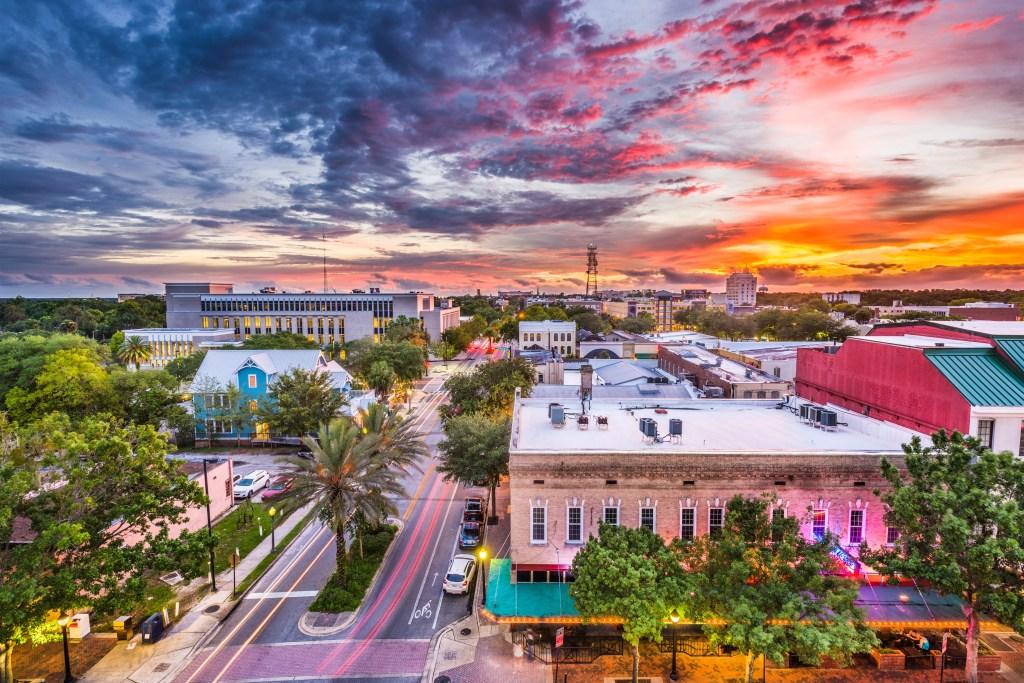 Gainesville Florida Skyline