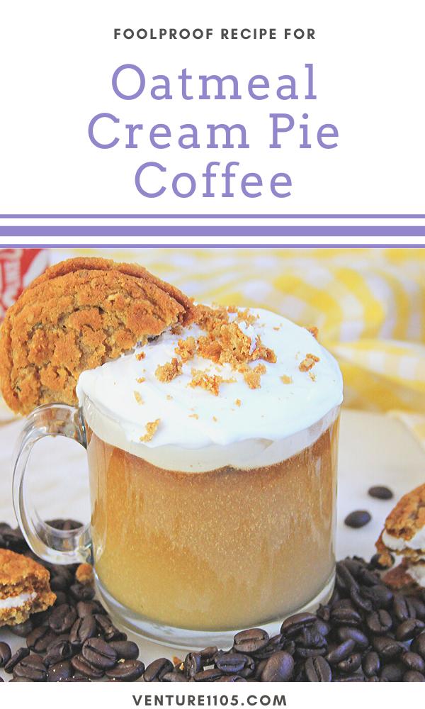 Oatmeal Cream Pie Coffee Recipe #coffee