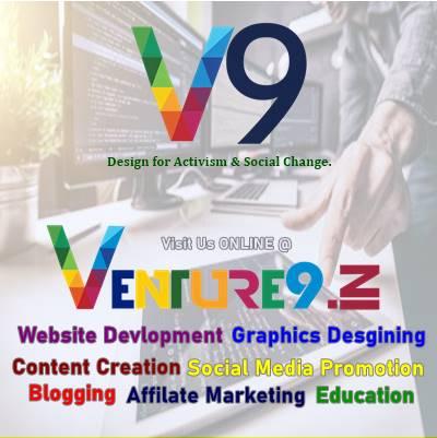 Venture9 - web sites blog blogging affilate marketing - the official kingdom of brands