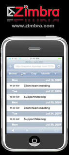 Zimbra and the iPhone