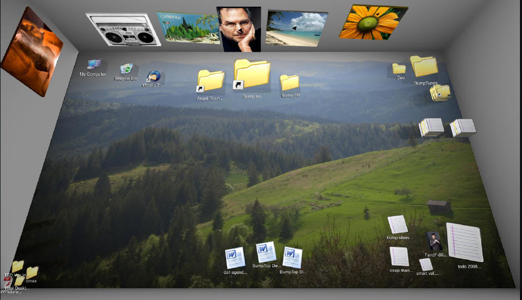 BumpTop gives Windows desktop a muchneeded makeover