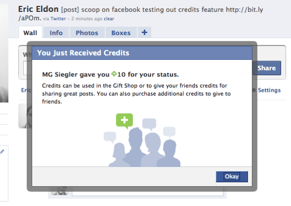 Facebook wants you to give credit where credit is due   VentureBeat