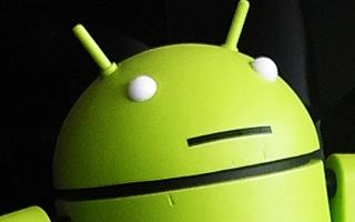 Google's android mascot