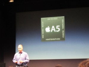 The A5 chip inside the iPhone 4S