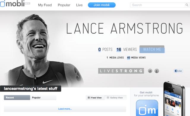 Lance Armstrong Mobli