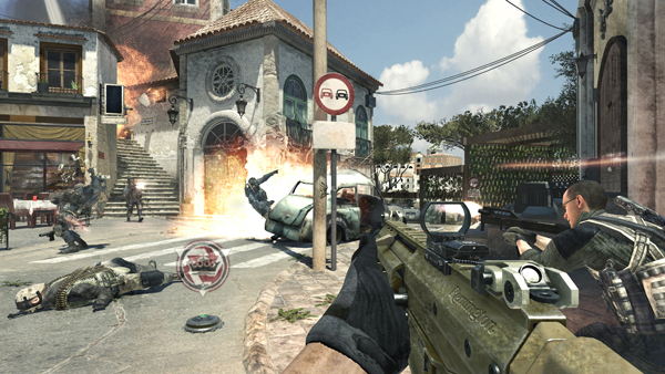 Call of Duty: Modern Warfare 3 Piazza Map
