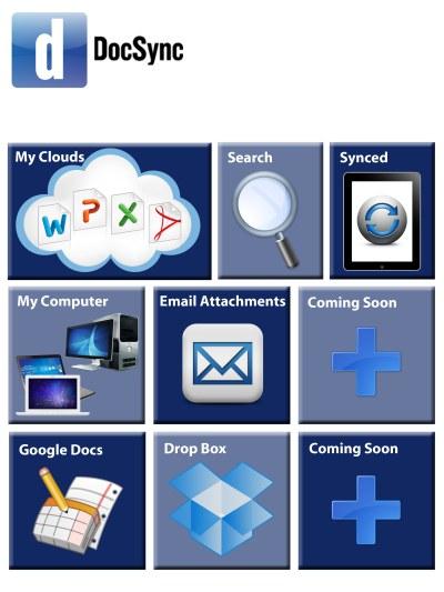 docsync for ipad, remote document editing