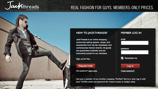 Jason Ross Launched JackThreads